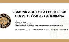 Comunicado de FOC a Ministerio de Salud