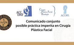 posible práctica imperita en Cirugía Plástica Facial