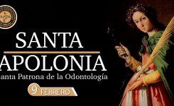 Día de Santa Apolonia, patrona de los Odontólogos