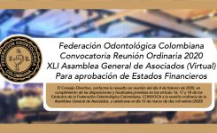 XLI Asamblea General de Asociados (Virtual)