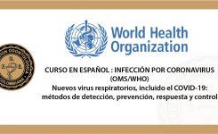 Curso en español : infección por Coronavirus (OMS/WHO)