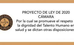 PROYECTO DE LEY 2020