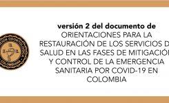 V.2 Orientaciones para la restauracion