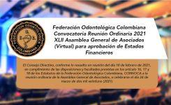 XLII Asamblea General de Asociados (Virtual) 2021